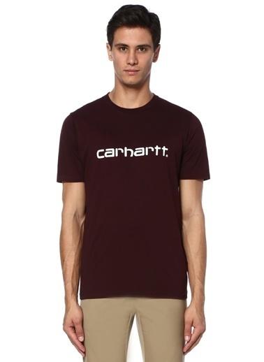 Carhartt Baskılı Tişört Bordo